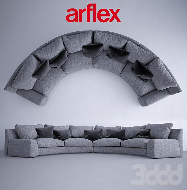 Полукруглый диван Arflex Ben-Ben