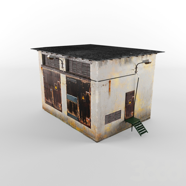 трансформаторная будка
