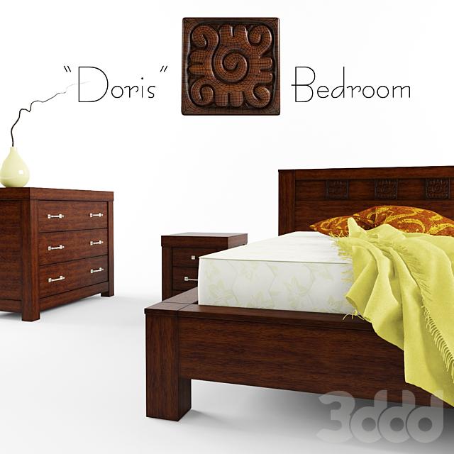 """Finesse """"Doris"""" Bedroom"""