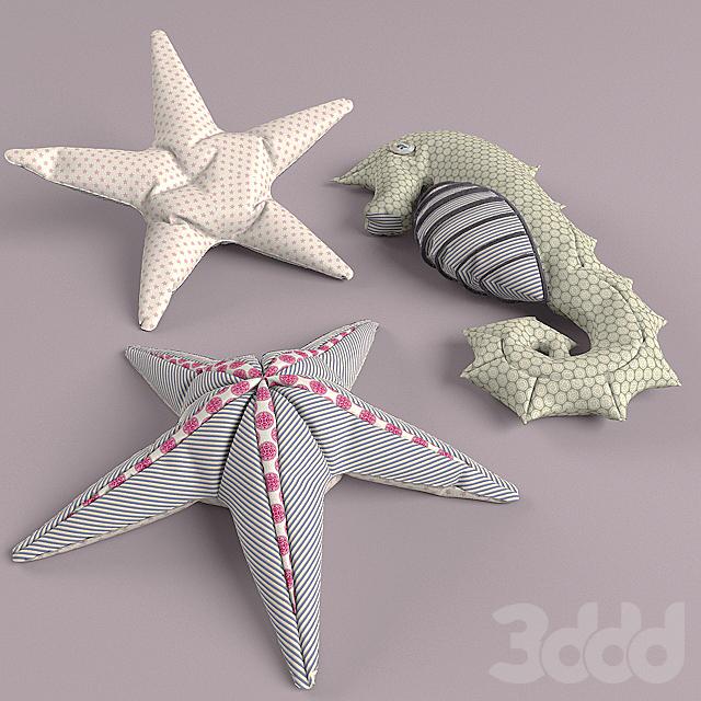 seahorse+starfish
