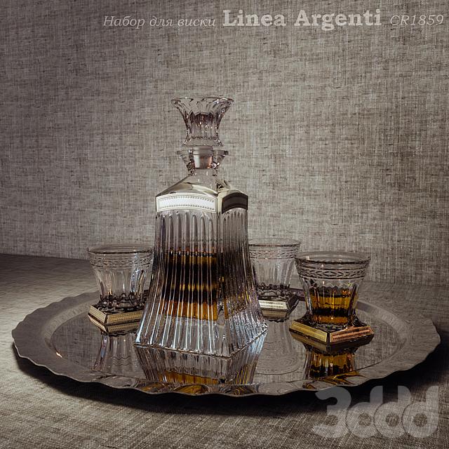 Набор для виски Linea Argenti CR1859