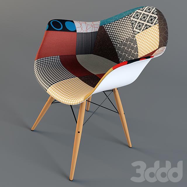 Стул Eames dsw patchwork