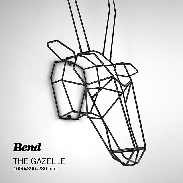 BEND Trophy Heads Gazelle