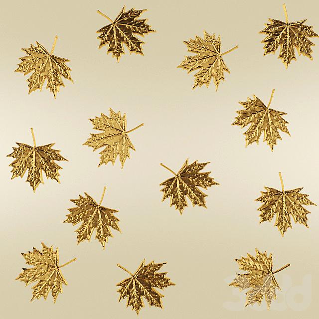 Лепнина, листья.