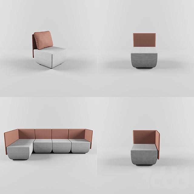 Softline / Opera modular sofa