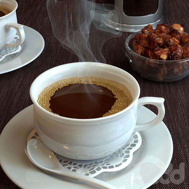 Кофе с кофейником