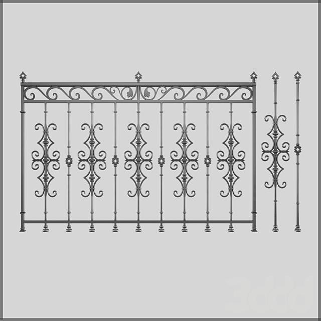 Кованный забор 1