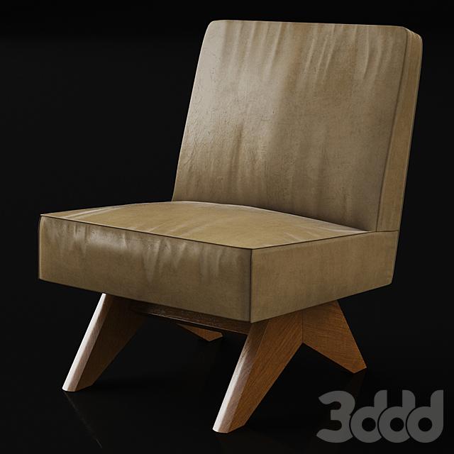 Vintage rare lounge chair