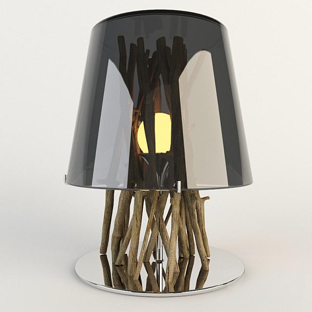 LAMPE KIINAU CHROMEE