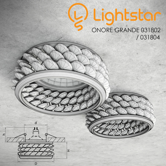 Lightstar - ONORE GRANDE 031802 / 031804