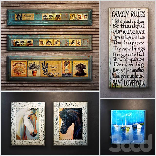Сборник 10: декоративное панно (интерьерная табличка, деревянная картина)