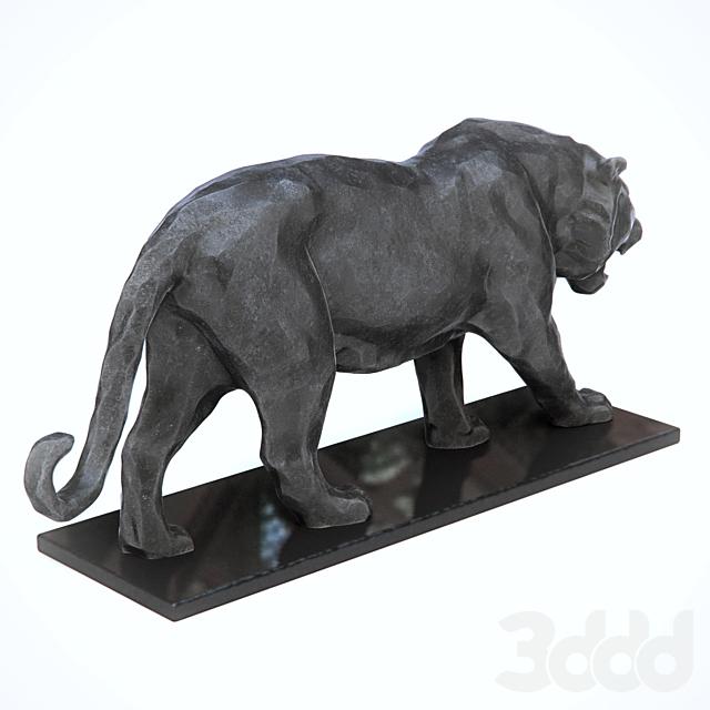 Скульптура тигра