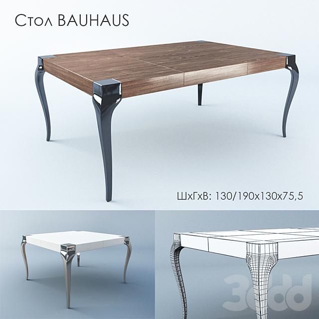 Стол обеденный Bauhaus