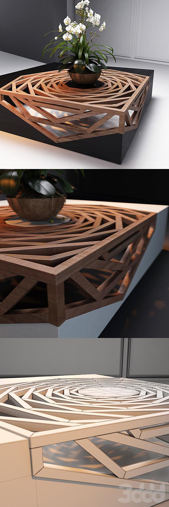 Hanako coffee table by Vito Selma