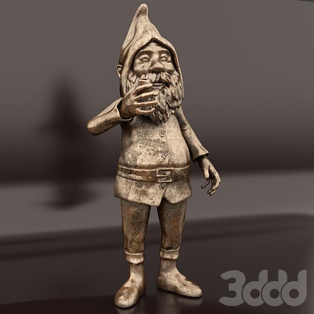 Скульптура гнома.