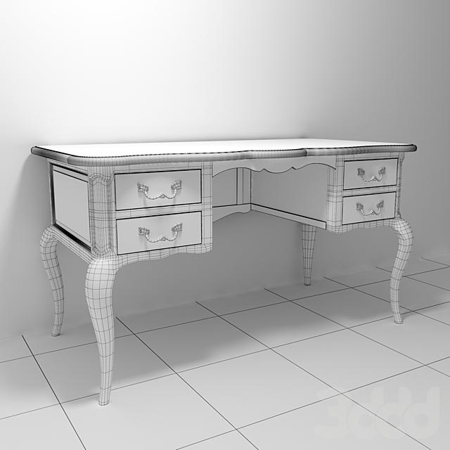 Стол письменный с ящиками Шато HQR1, плитка BRITANIA GALES от Realonda