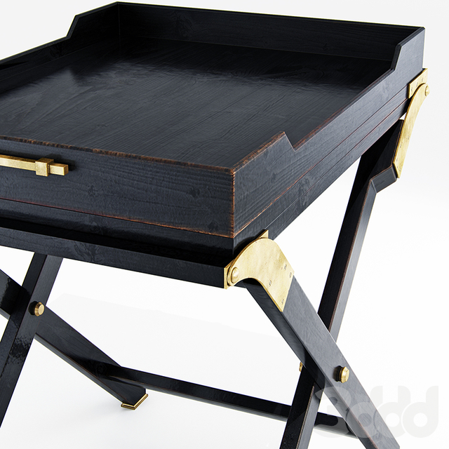 Baker butler console table