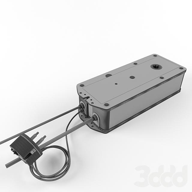 Привод противопожарного клапана с терморазмыкающим устройством , Встроенная пружина , IP54  BF230-T