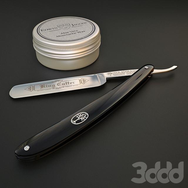 стильный мужской набор для бритья