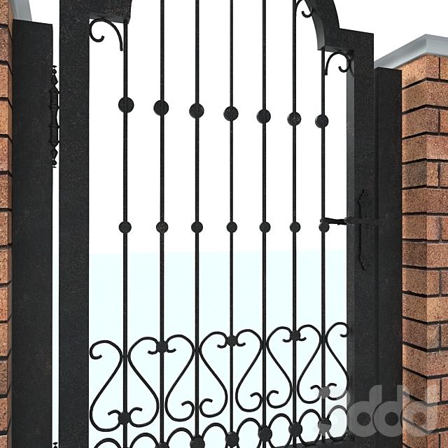 Коттеджный забор