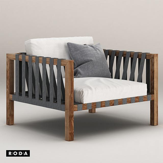 Mistral Sofa by Roda