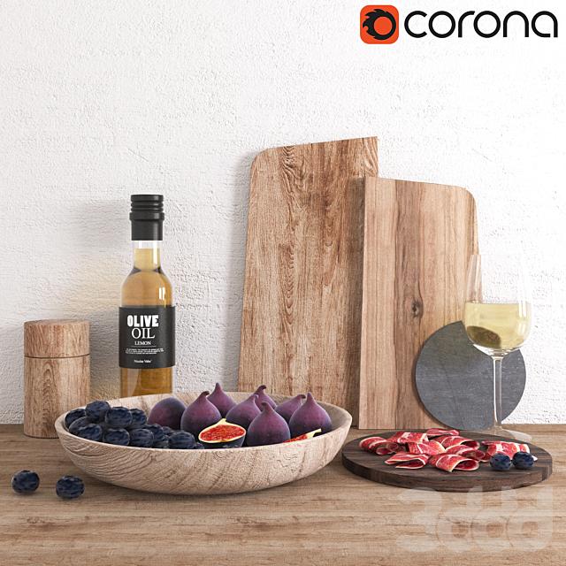Decorative Set (With wine)