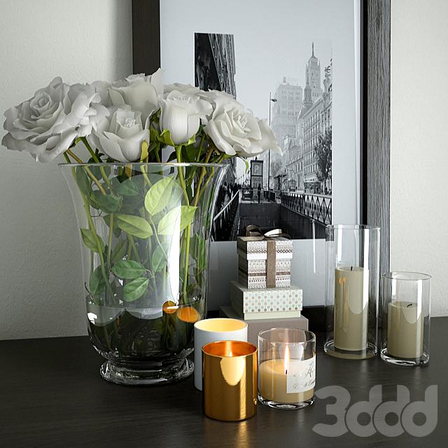 Декор с цветами
