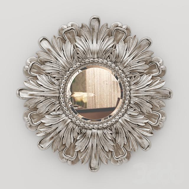 Laura Ashley Round Classic Mirror Frame