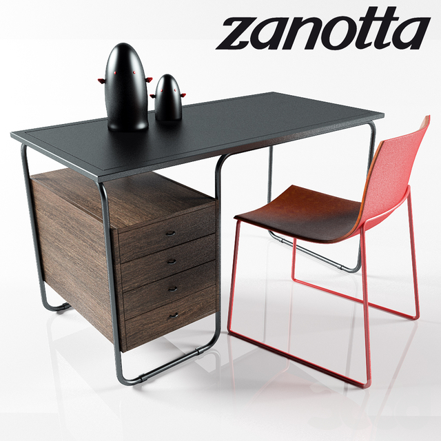 Zanotta Table Set