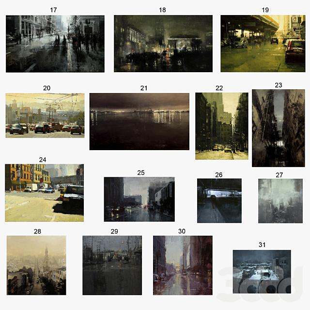 Jeremy Mann - Cityscapes