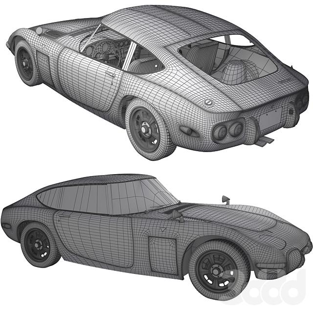 pro Toyota 2000GT