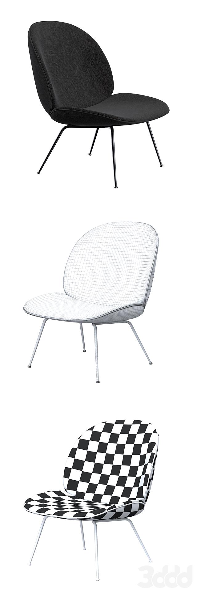 Gubi Beetle Lounge Chair