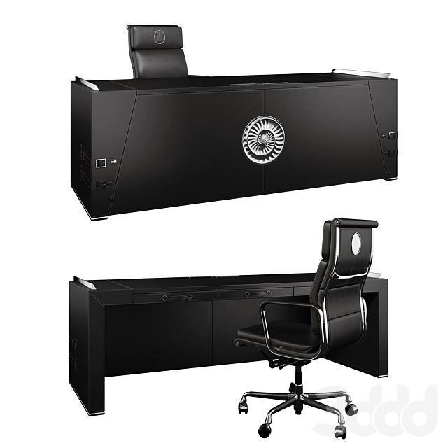 Desk and chair ART EDGE