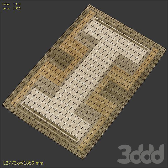Ковер DorisLeslieBlau A Deco Design Rug N11389