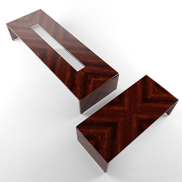 Столы для начальника и для переговоров