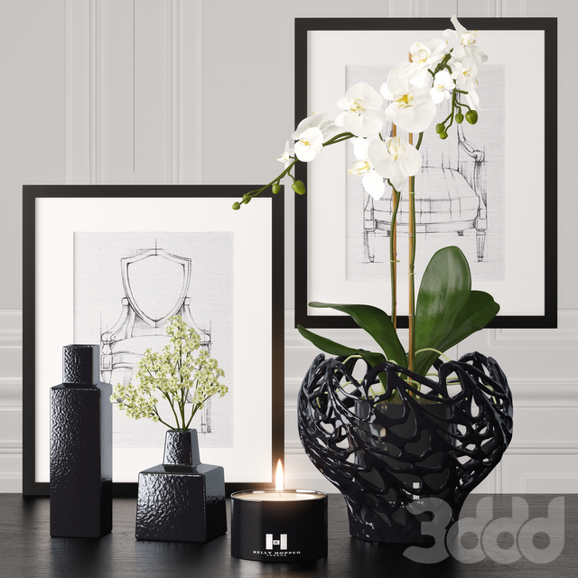 Decoration set 4 by Kelly Hoppen