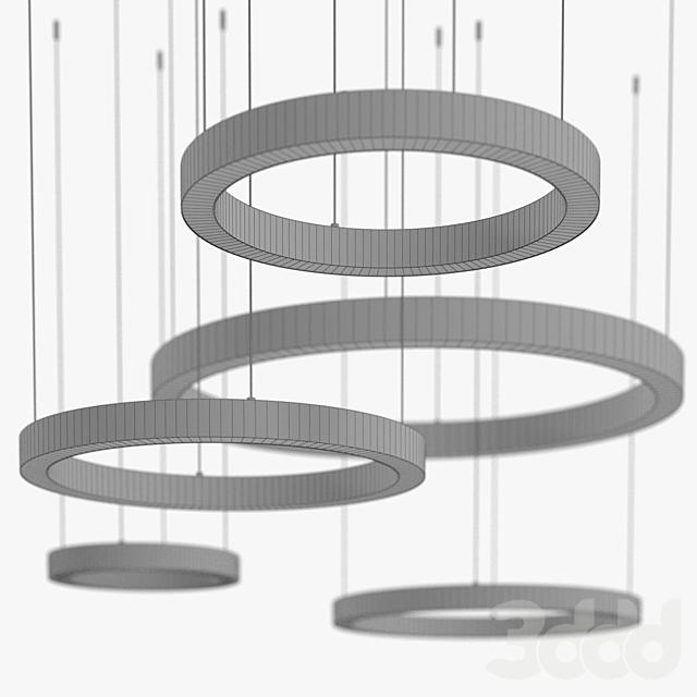 Henge - Light ring horizontal