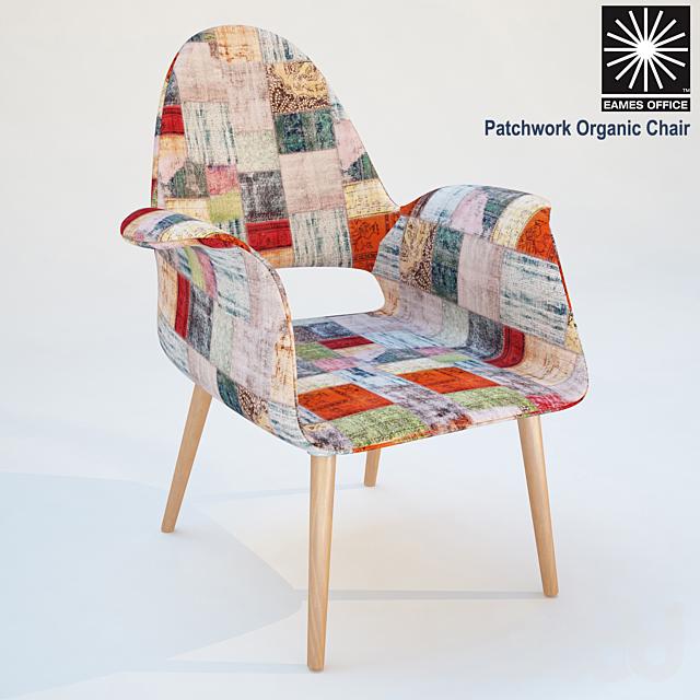 eames armchair patchwork