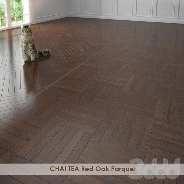 CHAI TEA Red Oak Parquet