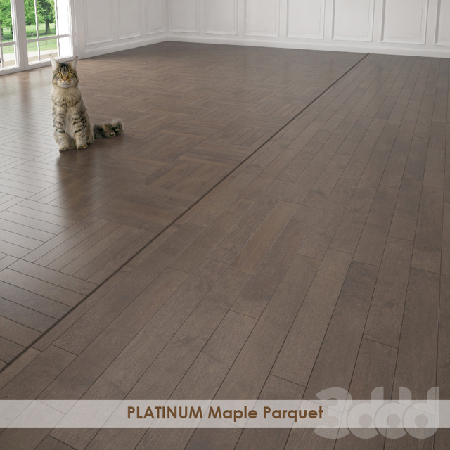 PLATINUM Maple Parquet