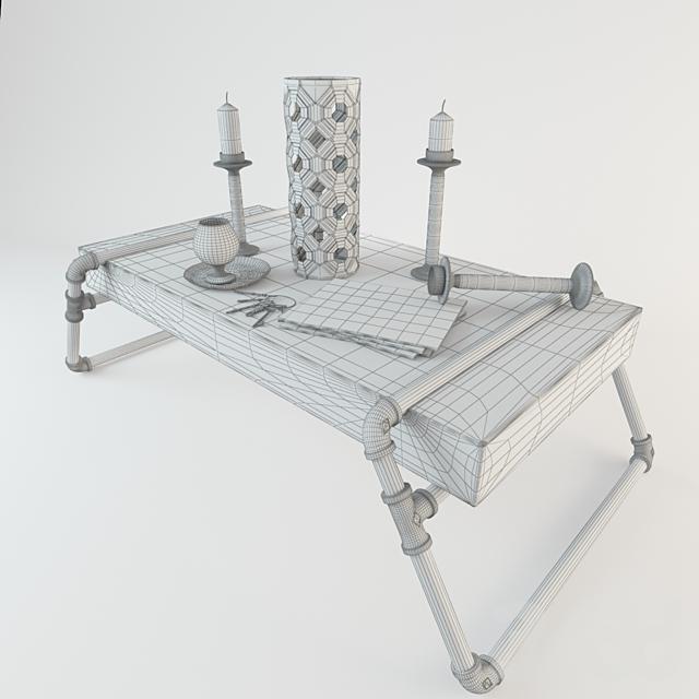 Стол Loft Tube с набором аксессуаров