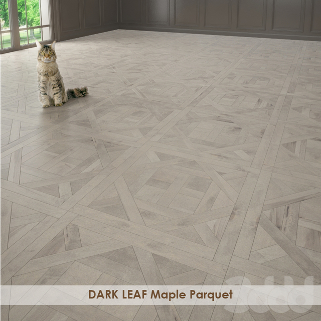 DARK LEAF Maple Parquet
