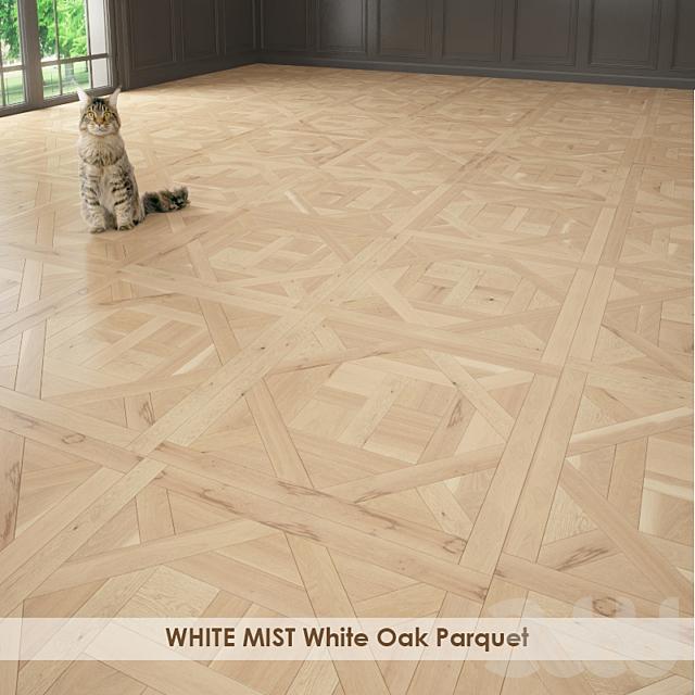 WHITE MIST White Oak Parquet