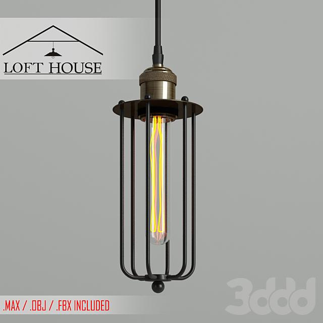 Светильник подвесной LOFT HOUSE P-126