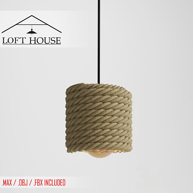 Светильник подвесной LOFT HOUSE P-157