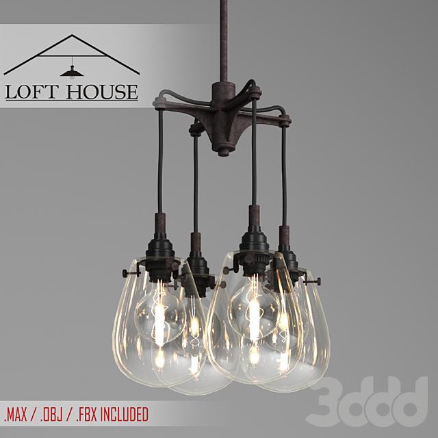 Светильник подвесной LOFT HOUSE P-147