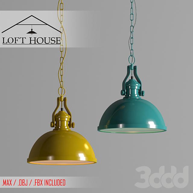 Светильник подвесной LOFT HOUSE P-194,  P-195, P-196, P-197