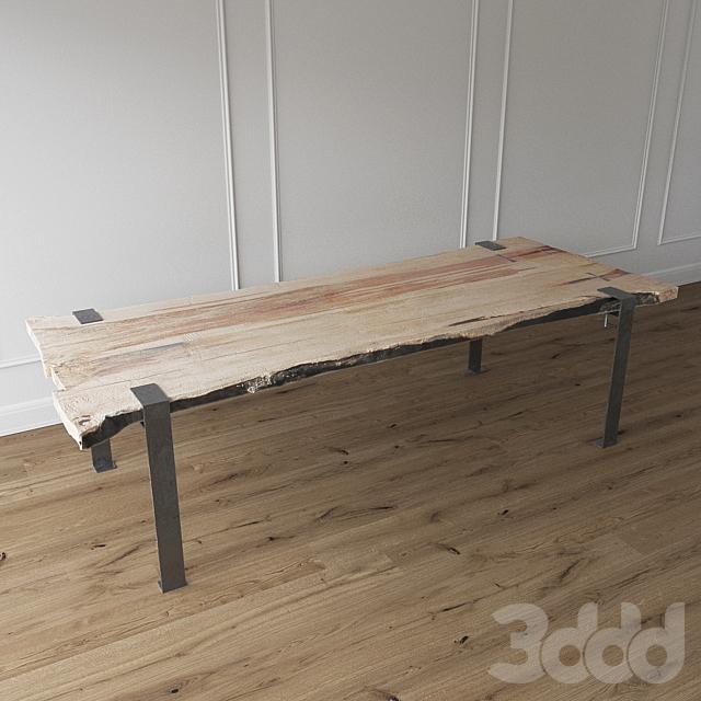 Table of slab | Стол из слэба