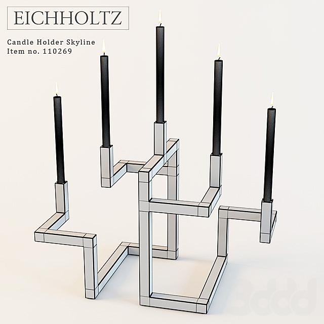 Eichholtz Candle Holder Skyline