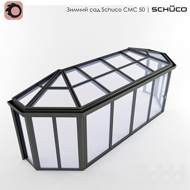 Зимний сад (№8) Schuco CMC 50 со скошенными углами